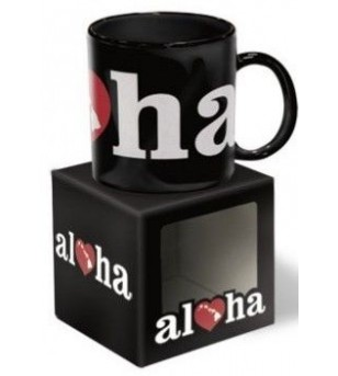 Mug Hoh Aloha Black largeur 9,5 cm