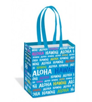 Sac Hawaii Aloha Blue Island Tote Small 33,5X32,5X19,5