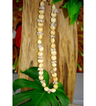Collier Coquillages Kukui...