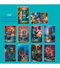 Boite 10 Cartes Postales Tiki 14.5x10 cm