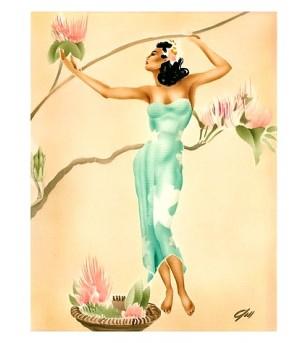 Poster Art Magnolia 45x30 cm