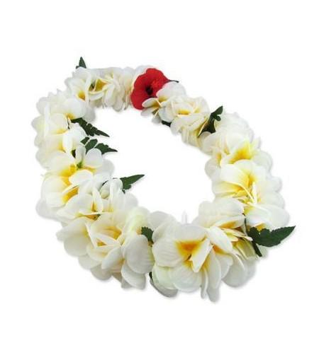 Colliers Fleurs Poe Poe Luxe Blanc Jaune