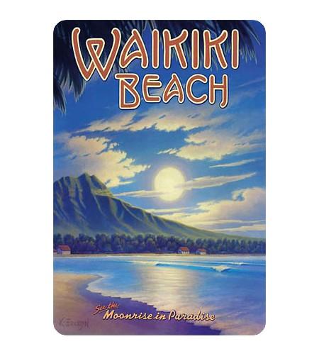 Carte Postale Waikiki Beach 14.5x10 cm