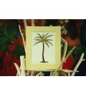 Cadre Déco Palm Tree Fibre Naturelle 20X25 cm