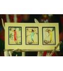 Cadre Déco Gill Collection Fibre Naturelle 15x30 cm