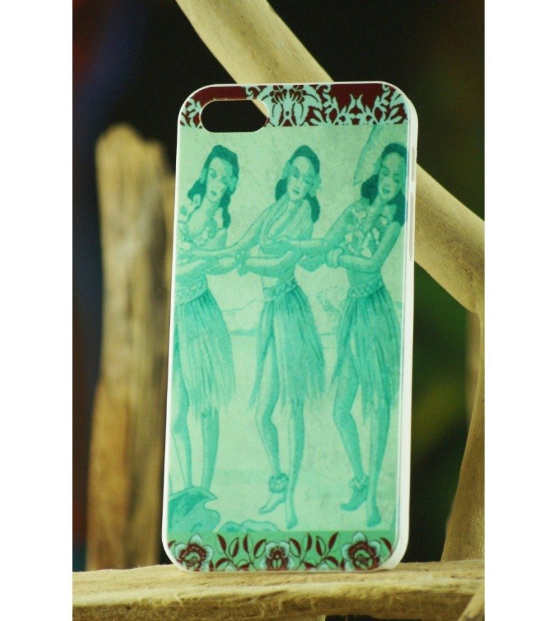 Coque Téléphone Portable Hula Sisters Iphone 5, 5S