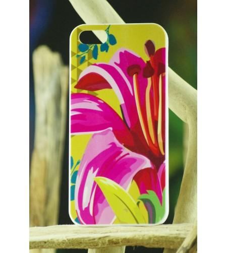 Coque Téléphone Portable Iphone Lys Pink 5, 5S