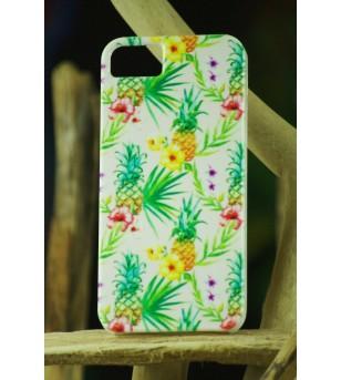 Coque Téléphone Portable Iphone Pineapple Jungle 5, 5S