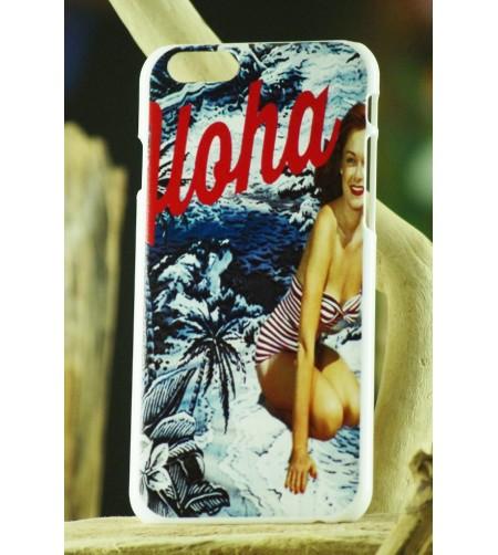 Coque Téléphone Portable Iphone Aloha Vintage 6, 6S