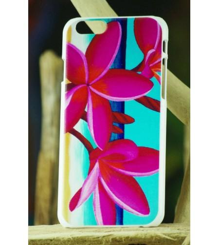 Coque Téléphone Portable Iphone Pink Frangipanie 6, 6S
