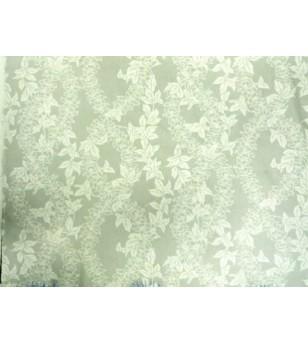 Tissu au Mètre Lei Flower White 65% Polyester - 35% Cotton Largeur 110 cm