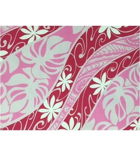 Tissu au Mètre Tiaré Psyché Rose 65% Polyester - 35% Cotton Largeur 110 cm