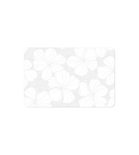 Set De Table Hibiscus White 43x28