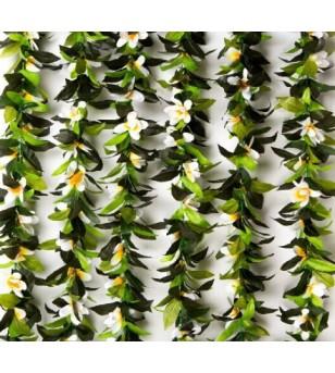 Liane Feuilles Fleurs Tipanier 180cm
