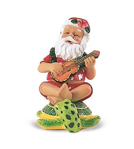 Déco Noel Santa On Honu 6.5*6.5 UNIQUEMENT SUR COMMANDE LIVRAISON DEBUT DECEMBRE