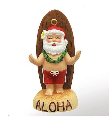 Déco Noel Santa's Longboard 6.5*6.5 UNIQUEMENT SUR COMMANDE LIVRAISON DEBUT DECEMBRE