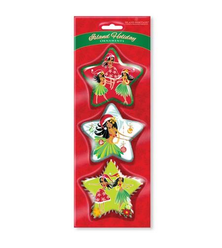 Déco Noel Island Holiday Honeys Pack de 3 UNIQUEMENT SUR COMMANDE LIVRAISON DEBUT DECEMBRE