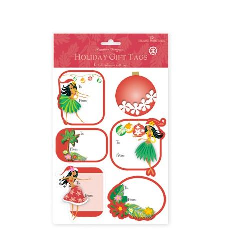 Déco Noel Pack 6 Etiquettes 3D Island Holiday Honey 2 UNIQUEMENT SUR COMMANDE LIVRAISON DEBUT DECEMBRE