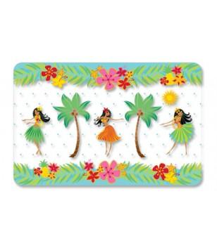 Set De Table Placemat Island Hula Honeys 28x43