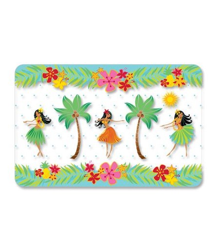 Set De Table Placemat Island Hula Honeys 28x43