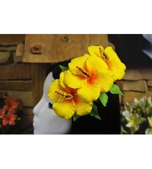 Poara Pince Fleurs Hibiscus 20x15cm