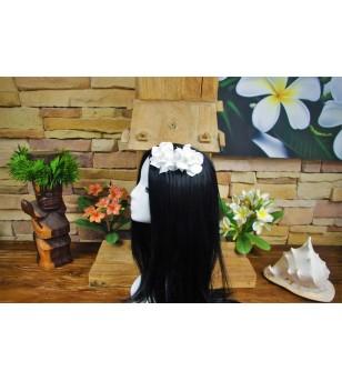 Peigne Fleurs Gardenia 9 cm