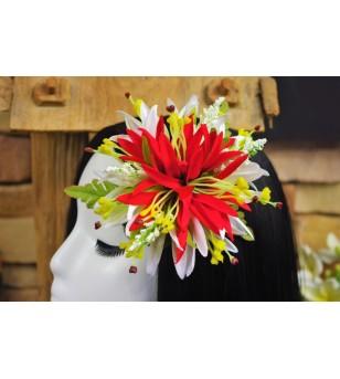 Poara Pince Fleurs Spider Lily 18x16cm