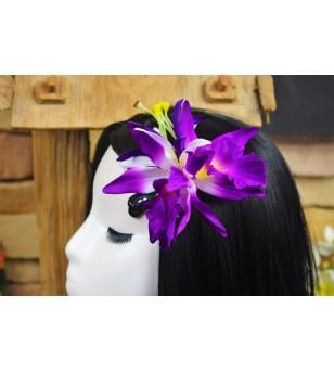 Poara Pince Fleurs Orchidée 9cm