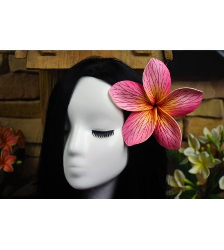 Fleurs d'oreille Franginier Rose 14cm