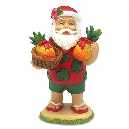 Déco Noel Santa Pineapple 6.5*6.5 UNIQUEMENT SUR COMMANDE LIVRAISON DEBUT DECEMBRE
