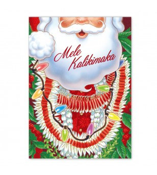 Déco Noel Boite 12 Cartes Postales Santa Paradise UNIQUEMENT SUR COMMANDE LIVRAISON DEBUT DECEMBRE