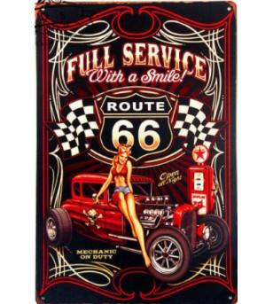 Plaque Métal Vintage 30*20