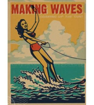 Affiche Poster Papier Kraft Format A3 42*30