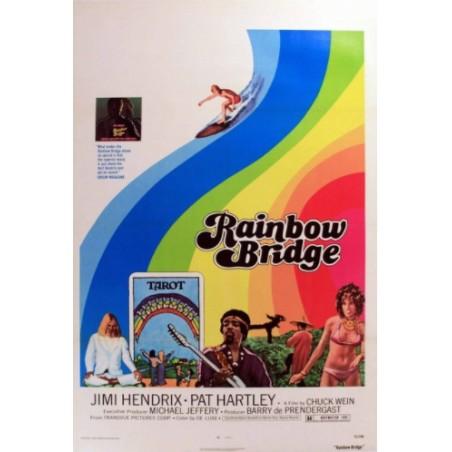 Affiche Poster Rainbow Bridge Papier Kraft Format A3 42*30