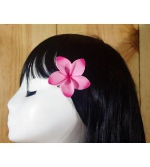 Pince Fleur Frangipanier Rose 5cm