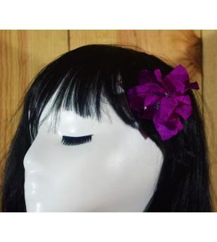 Fleur D'oreille Bougainvilliers Violet 6cm