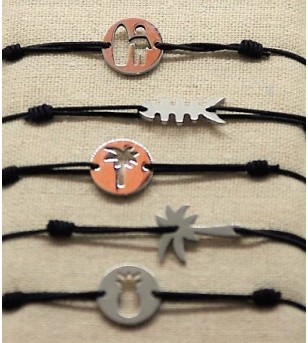 Lot 5 Bracelets Métal