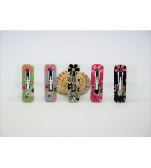 Lot 5 Barrettes
