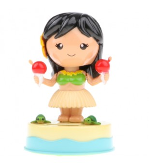 Miniature Dashboard Doll Solaire Plastique - Taille  8x8x11