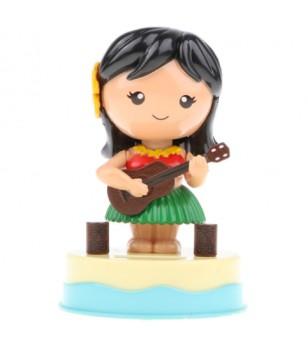 Miniature Dashboard Doll Solaire Plastique - Taille  8x8x11
