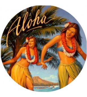 Magnet Décapsuleur Hula Aloha