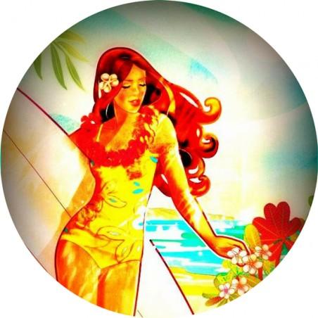 Magnet Décapsuleur Surfing Girl