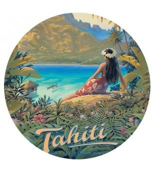 Magnet Décapsuleur Tahiti Island