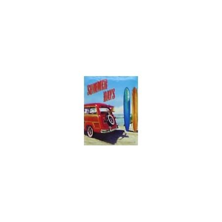 Magnet Summer Days  Grès Céramique Taille 6x8cm