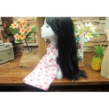 Echarpe Flamingo 30% coton 70% Viscose Taille 180X70cm