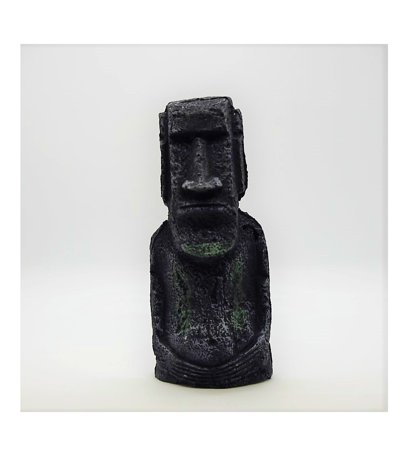 Moai Déco Résine 18cm