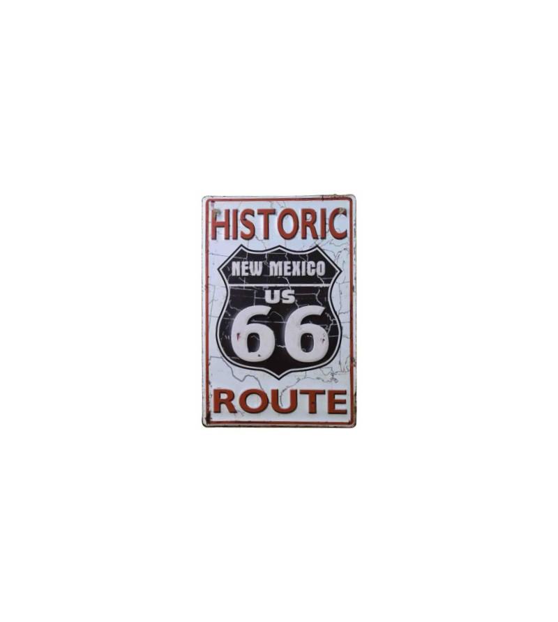 Plaque Métal Vintage Relief 30*40