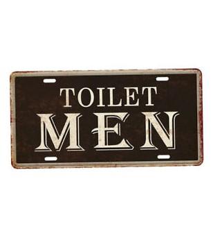 Plaque Métal Vintage 15,5*30,5 cm