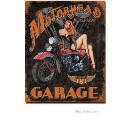 Plaque Métal Vintage 20*30