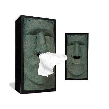 Moai Boite Mouchoir